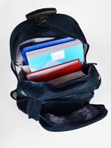 Wheeled Backpack Lego Blue ninjago 9-vue-porte