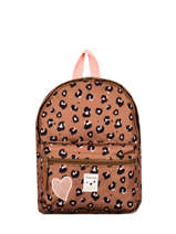 Backpack 1 Compartment Kidzroom Pink attittude 1552