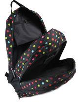 Backpack 2 Compartments Little marcel Black school 8871-vue-porte