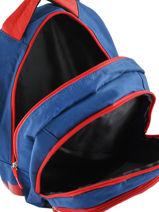 Backpack Losc lille Blue los 193L204I-vue-porte