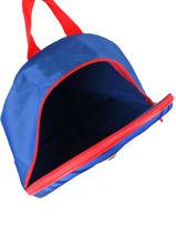 Backpack Mini 1 Compartment Mickey Blue stripe MICNIO3-vue-porte