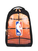 Backpack 2 Compartments Nba Black basket 193N204B