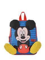 Mini Backpack Mickey Mickey Blue stripe MICNI03