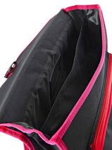 Satchel 2 Compartments Miniprix Pink music 1507-vue-porte