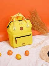 Backpack S 1 Compartment Cabaia Yellow tour du monde S