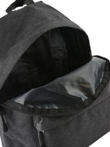 Backpack 1 Compartment Miniprix Gray basic 8007-vue-porte