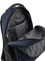 Backpack 2 Compartments Miniprix Blue fac FN86137-vue-porte