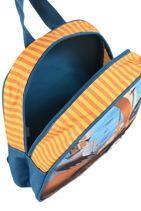 Mini Backpack Heroes My favorite Blue heroes 456540-vue-porte