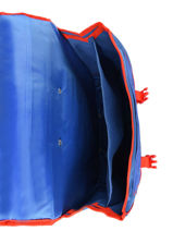 Wheeled Schoolbag 2 Compartments Paw patrol Blue brave PAWNI18-vue-porte