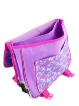 Satchel 2 Compartments Violetta Violet this is me 724825-vue-porte