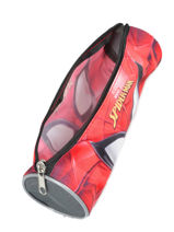 Trousse 1 Compartiment Spiderman Rouge mask SPINI01-vue-porte