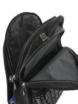 Backpack Real madrid Black 1902 183R204D-vue-porte