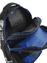 Backpack Real madrid Black 1902 183R204S-vue-porte