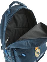 Sac à Dos 1 Compartiment Real madrid Bleu 1902 183R204B-vue-porte