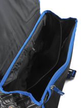 Wheeled Schoolbag 2 Compartments Real madrid Black 1902 183R203R-vue-porte