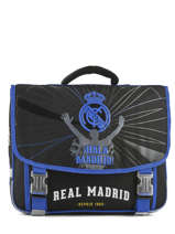 Cartable 2 Compartiments Real madrid Noir 1902 183R203S