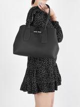 Longchamp Roseau Hobo bag Black-vue-porte
