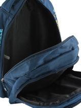 Backpack Olympique de marseille Blue droit au but 192O204I-vue-porte