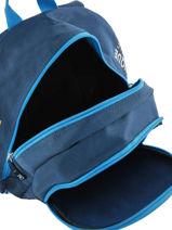 Backpack Olympique de marseille Blue droit au but 192O201S-vue-porte