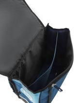 Cartable 2 Compartiments Olympique de marseille Bleu droit au but 183O203S-vue-porte