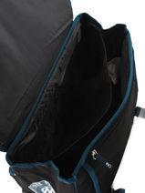 Wheeled Schoolbag 2 Compartments Olympique de marseille Blue droit au but 183O203R-vue-porte