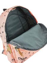 Mini Backpack Fearless Kidzroom Pink fearless 30-9408-vue-porte