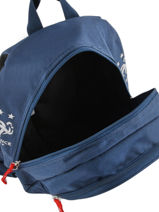 Backpack Federat. france football Blue equipe de france 193X201S-vue-porte