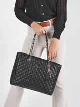 Shopping Bag Cessily Guess Black cessily EV767923-vue-porte