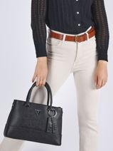 Shoulder Bag Cordella Guess Black cordella VY813006-vue-porte