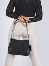 Shoulder Bag Cordella Guess Black cordella VY813002-vue-porte