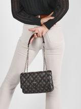 Shoulder Bag Cessily Guess Black cessily PG767921-vue-porte