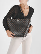 Sac Cabas  Reversible Alby Guess alby PG745523-vue-porte