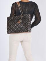 Shopping Bag Cessily Guess Black cessily PG767923-vue-porte