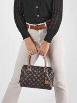 Shoulder Bag Cessily Guess Black cessily PG767905-vue-porte