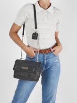 Crossbody Bag Bea Guess Black bea VS813221-vue-porte
