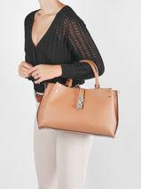 Shoulder Bag Albury Guess Brown albury VG813107-vue-porte