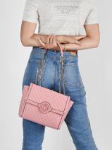 Shoulder Bag Heyden Guess Pink heyden QE813421-vue-porte