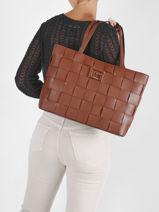Shopper Liberty Guess Brown liberty EG813523-vue-porte