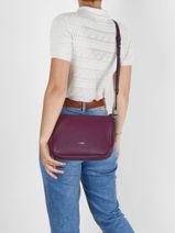Shoulder Bag Madeleine Leather Le tanneur madeleine TMAD1400-vue-porte