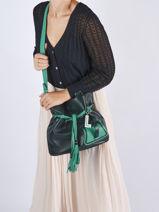Top Handle Premier Flirt Leather Lancel Green premier flirt A11771-vue-porte