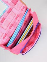 Satchel 2 Compartments Snowball Pink classic - 00075735-vue-porte