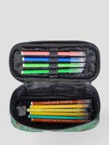 Pencil Case 1 Compartment Jack piers Green jp boys B-vue-porte