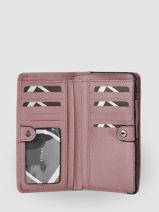 Leather Blazer Wallet Etrier Violet blazer EBLA091M-vue-porte