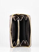 Compact Leather Cavale Wallet Etrier Gray cavale ECAV090M-vue-porte