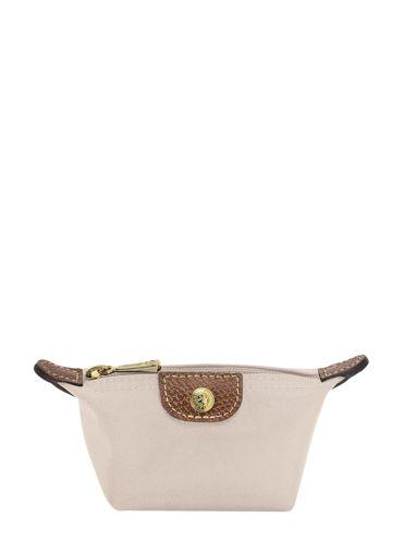 Longchamp Le pliage Coin purse White