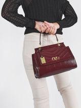 Shoulder Bag Cavale Leather Etrier Red cavale ECAV001L-vue-porte