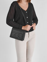 Shoulder Bag Alezan Leather Etrier Black alezan EALE002S-vue-porte