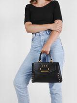 Top Handle Greta Guess Black greta VB812906-vue-porte
