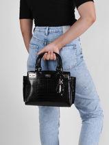 Shoulder Bag Katey Guess Black katey CG787006-vue-porte