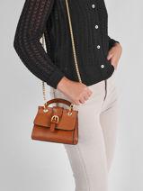 Shoulder Bag Equilibre Leather Etrier Brown equilibre EEQU001S-vue-porte